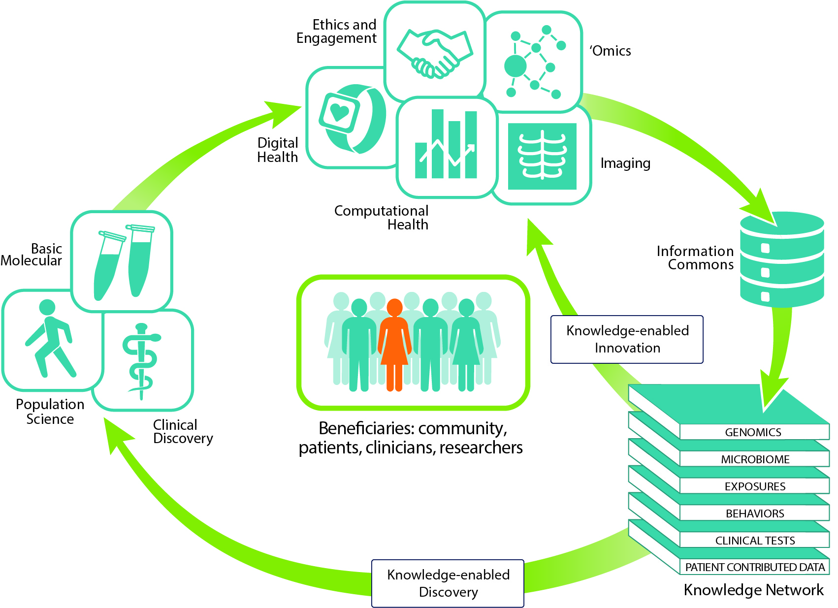 Graphic depiction of Precision Medicine Matrix
